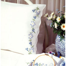 Classic Stamped for Embroidery Pillowcases T23