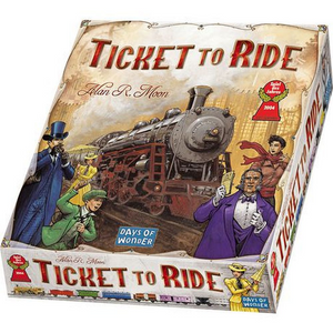 Asmodee Ticket to Ride 7201