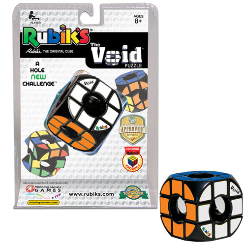 Hasbro Winning Moves Games Rubiks Cube The Void Puzzle 1158