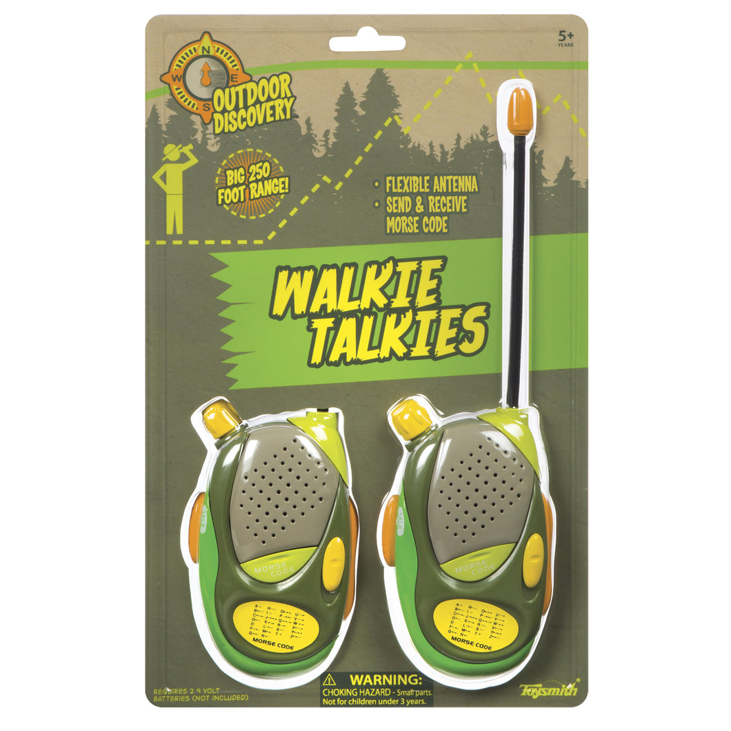 walkie talkies in package