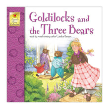 Goldilocks & the Three Bears book front cover