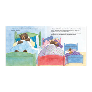 Goldilocks & the Three Bears book inside pages