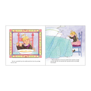 Goldilocks & the Three Bears book more inside pages