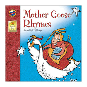 Mother Goose Rhymes book  front cover