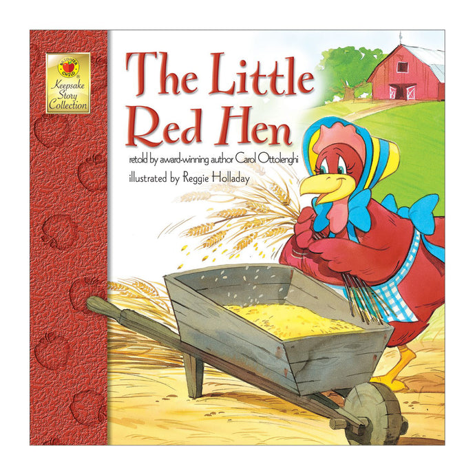 The Little Red Hen book front cover