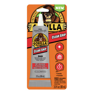 Contact Adhesive Gorilla Clear Grip 3 Oz. 8040002