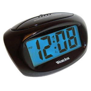 Westclox Large Display Digital LCD Alarm Clock