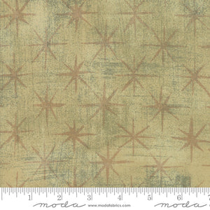 Tan  Seeing Stars Moda quilt fabric