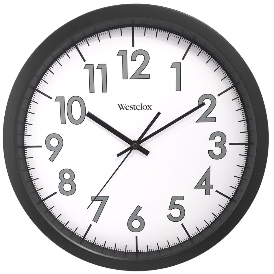 Westclox Office Commercial Wall Clock