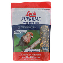 4.5 bag of Lyric Supreme wild bird seed mix.