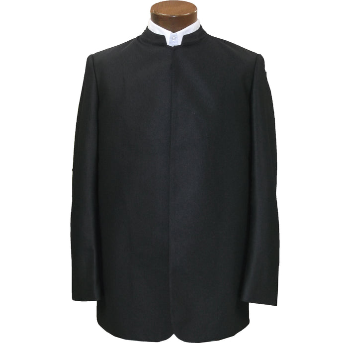 Plain Cut suit coats without buttons
