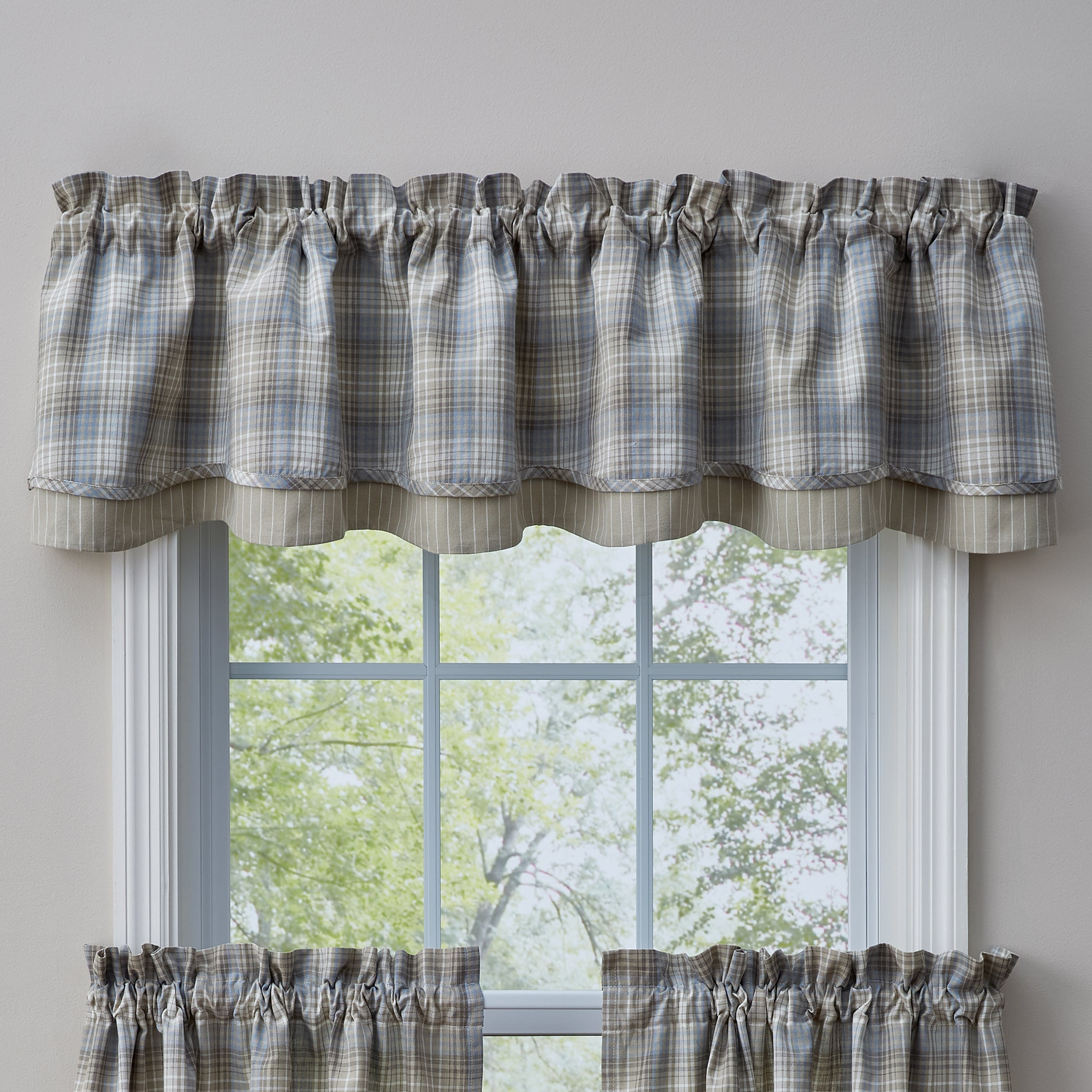 valance in white wallpaper pattern lamp also of wooden room back window interior curtains size hanging sheer bay living small frame glass and decoration tiecord beautiful with wood floral black full triple on