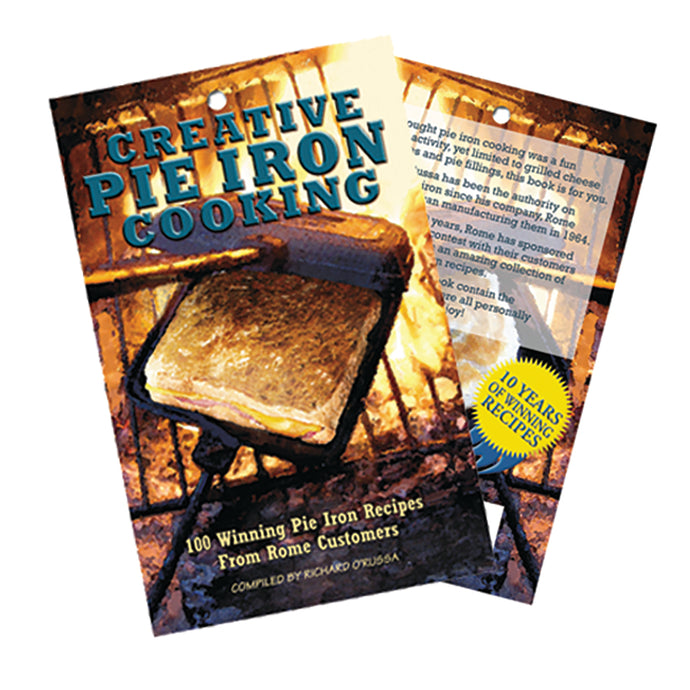 Pie iron cooking