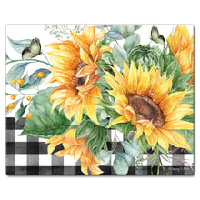 Classy Glass Cutting Boards Sunflower Fields