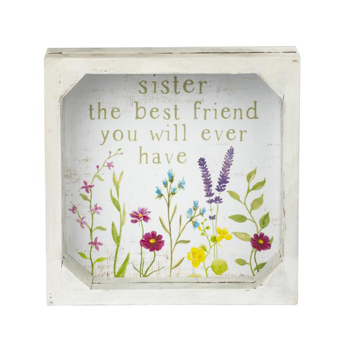 Sister Framed Plaque 211-39858