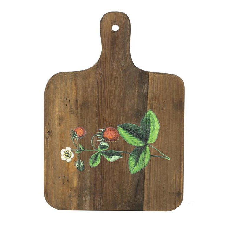 Recycled Wood Strawberry Bread Board 211-60707