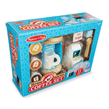 Packaged play coffee set.