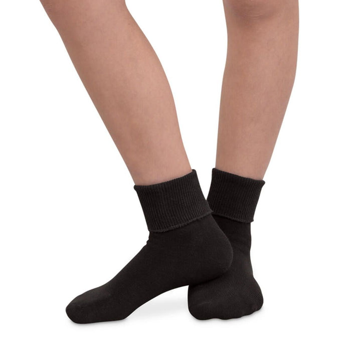 Youth Seamless Turn Cuff Socks 2200