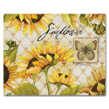 Classy Glass Cutting Boards Sunflowers