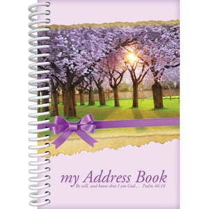Be Still Address Book 2375