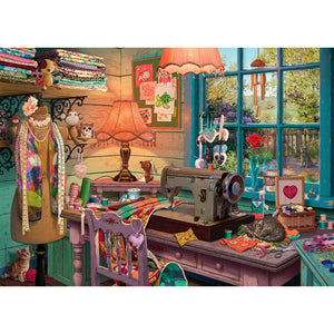 Puzzle The Sewing Shed Ravensburger
