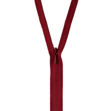 Cranberry Unique invisible zipper