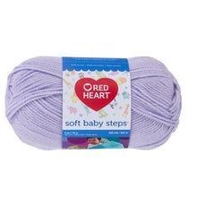 Lavender Soft Baby Steps Yarn.