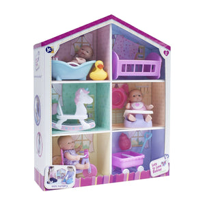 JC Toys Lots To Love Playhouse with Mini Dolls 16755