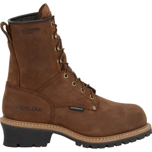 "Carolina work shoe- men's 8"" insulated."