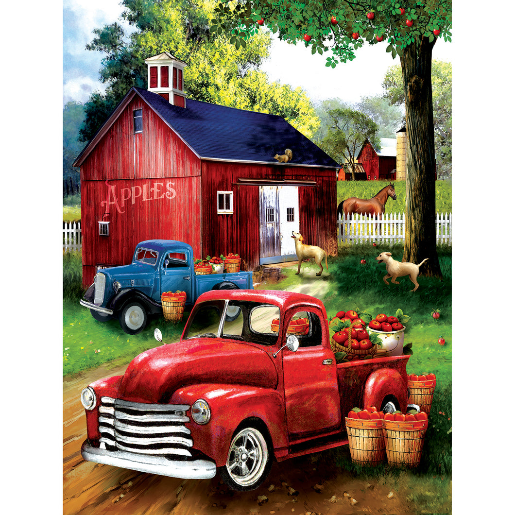 Apples for Sale 300 PC Puzzle 28716