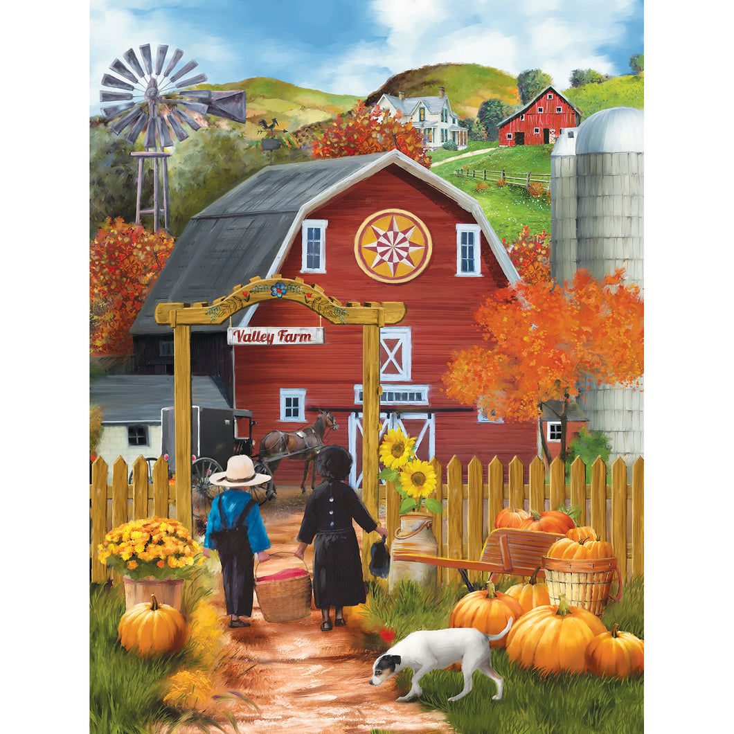 Valley Farm 500 PC Puzzle 28755