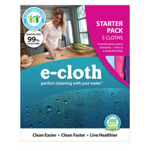 e-cloth starter pack in package.