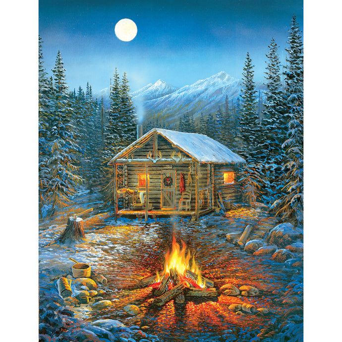 A Cozy Holiday 1000 PC Puzzle 29032