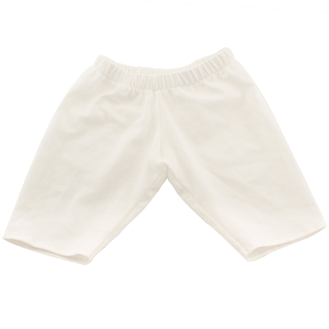 Girls white bloomers