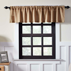 Curtain valance.