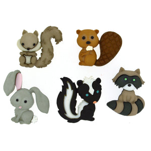 Buttons Small Animals
