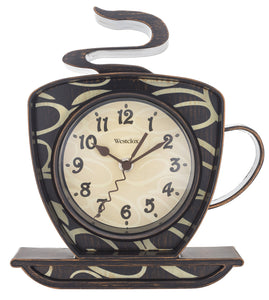 Westclox Coffee Cup Wall Clock