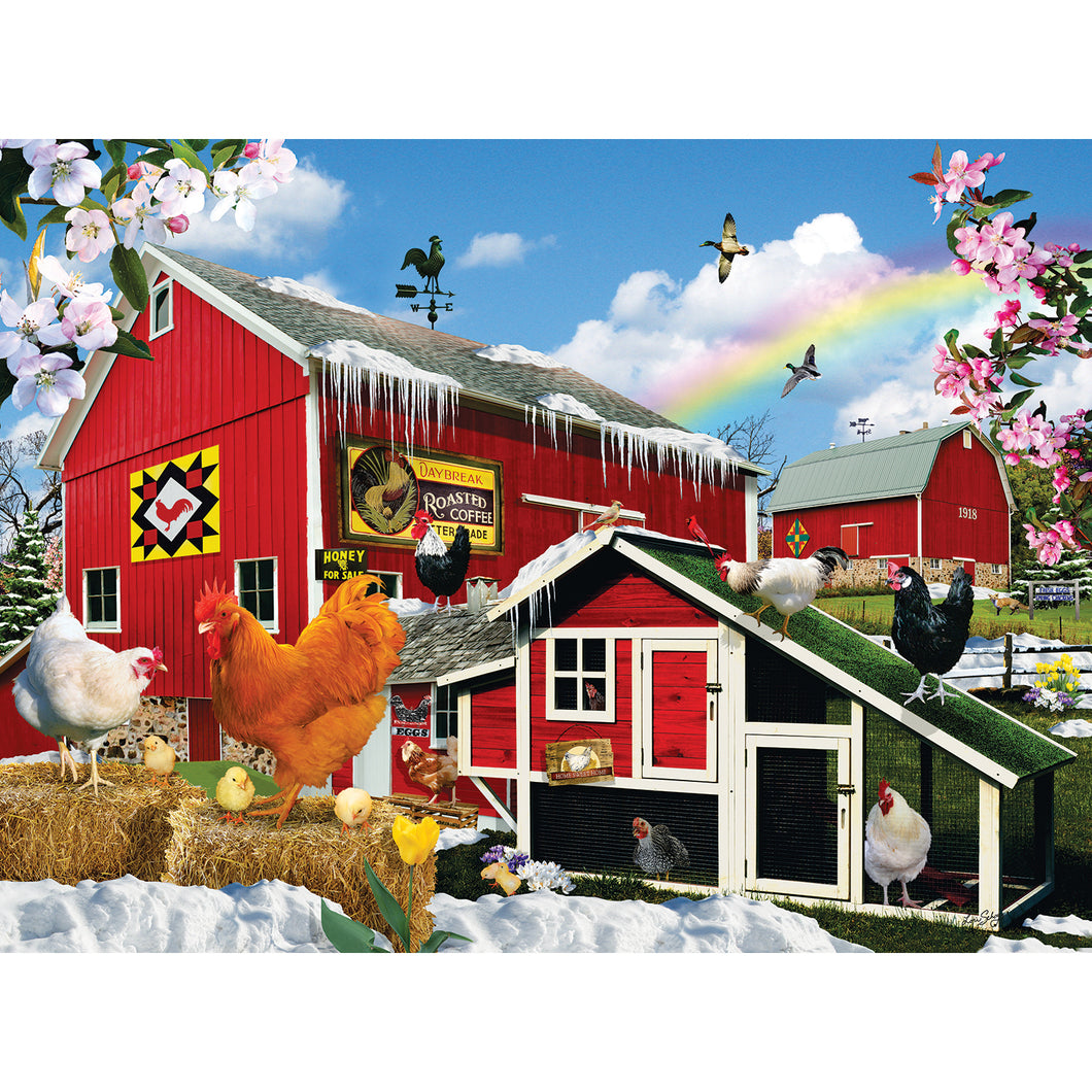 First Signs of Spring 1000 PC Puzzle 34944