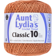 Copper Mist Aunt Lydia's crochet thread.