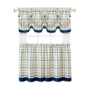 36-inch Navy curtains