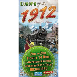 Ticket to Ride Expansion Pack.