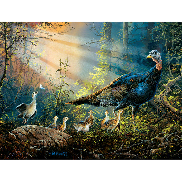 Turkey in the Sun Rays 300 PC Puzzle 36205