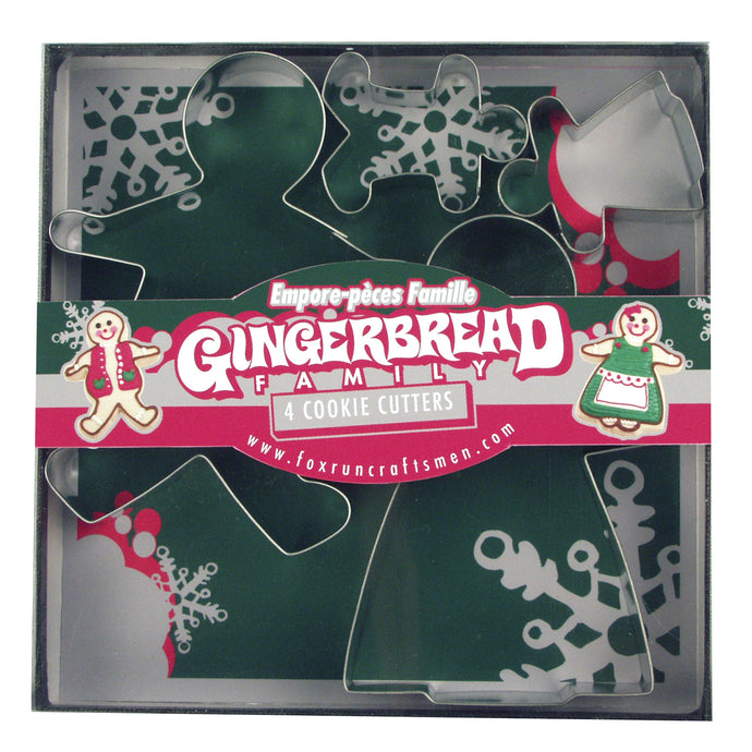 Gingerbread Family Cookie Cutter Set 3663