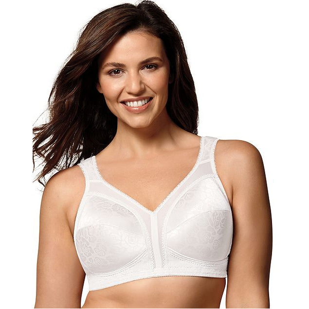 Playtex white 18 Hour shoulder comfort bra