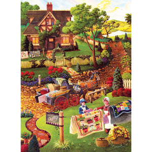 Mary's Quilt Country 500 PC Puzzle 38883
