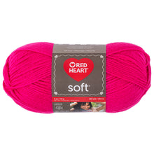Very Pink yarn skein.