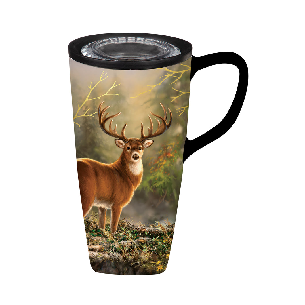 Ceramic White Tail Travel Cup 3CLC967850