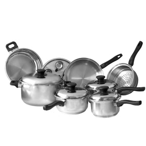 Whole Set of Lindy's Waterless Cookware