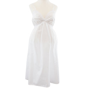 Poly cotton maternity slip