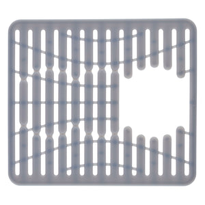 Sink mat with drain hole